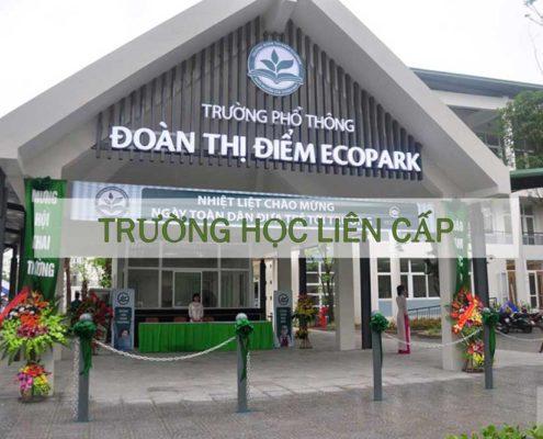 hệ thống giáo dục quốc tế tại ecopark