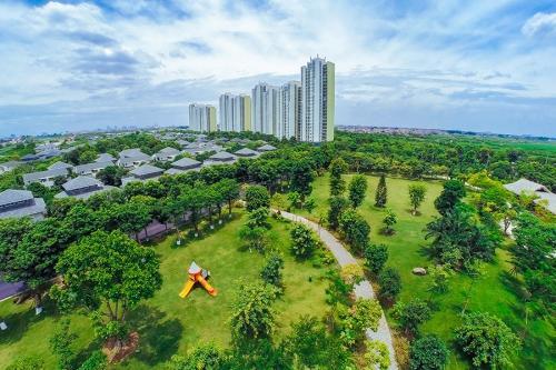công viên cây xanh tại ecopark