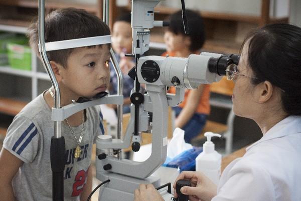 cơ sở vật chất chất lượng cao của bệnh viên mắt alina ecopark