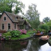 cuộc sống thanh bình hòa cùng thiên nhiên tại tiểu khu làng hà lan Ecopark