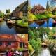 phối cảnh minh họa phân khu làng Hà Lang trong khu đô thị Ecopark