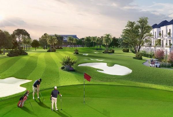 biệt thự sân golf ecopark là không gian nghỉ ngơi hiếm có nhất tại ecopark
