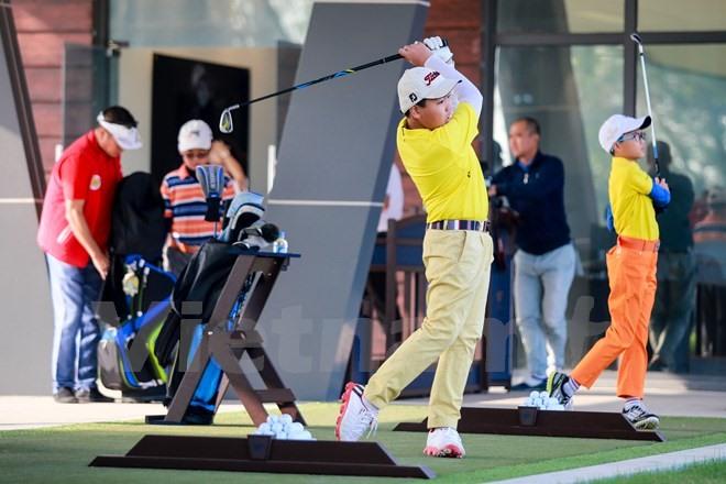 học viện golf egpa ecopark tiêu chuẩn quốc tế