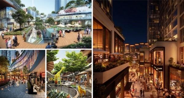phố đi bộ 2km sẽ là trung tâm mới tại Ecopark trong tương lai gần