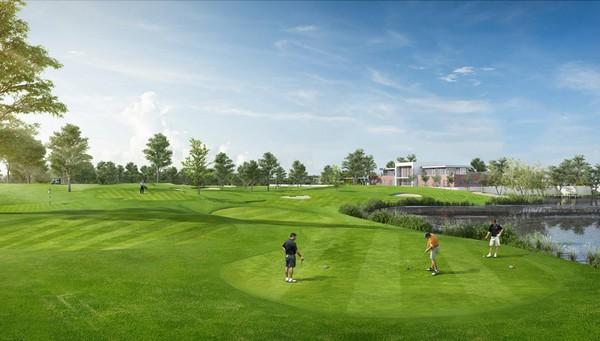 rất nhiều tiện nghi đẳng cấp tại sân golf ecopark