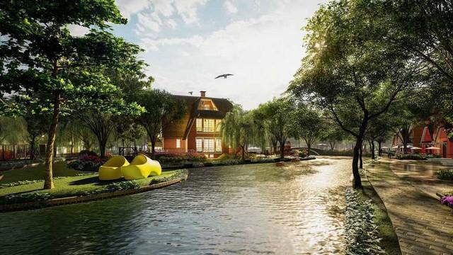 Biệt thự Làng Hà Lan tại Ecopark đốt nóng thị trường cuối năm