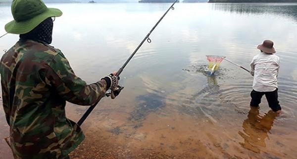 đến khu đô thị ecopark hà nội để câu cá